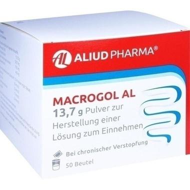 Macrogol AL 13,7 g Pulver zur Herstellung einer Lösung zum Einnehmen