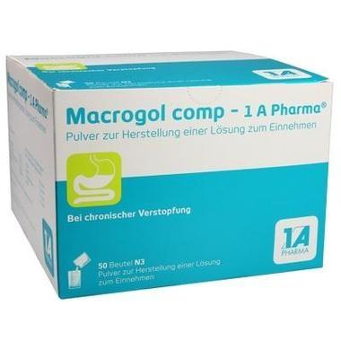 Macrogol comp - 1 A Pharma®, Pulver z. Herst. einer Lsg. z. Einnehmen