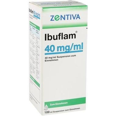 Ibuflam® 4 %, 40 mg/ml Suspension zum Einnehmen