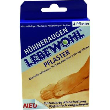 Lebewohl Huehneraugenpfl. normal Pfl.