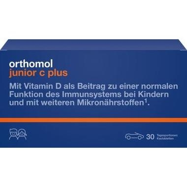 Orthomol junior C plus Kautabletten Waldfrucht