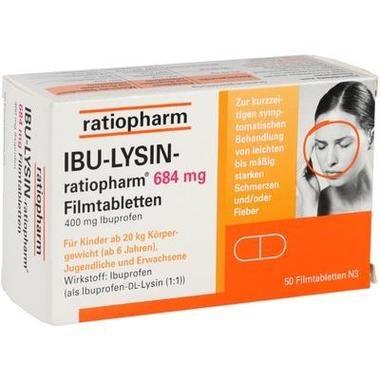 IBU-LYSIN-ratiopharm® 684 mg Filmtabletten