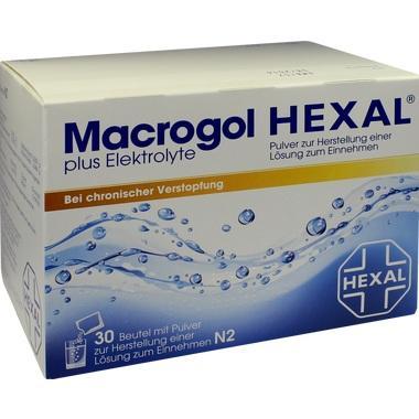 Macrogol HEXAL® plus Elektrolyte, Pulv. z. Herstell. einer Lösung zum Einnehmen