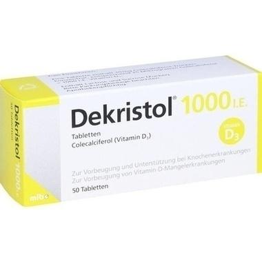 Dekristol® 1000 I.E. Tabletten
