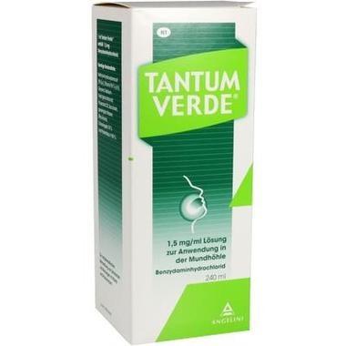 Tantum Verde® 1,5 mg/ml Lösung zur Anwendung in der Mundhöhle