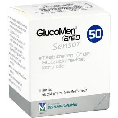GlucoMen areo Sensor Teststreifen Berlin-Chemie