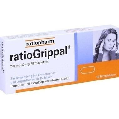 ratioGrippal® 200 mg/30 mg Filmtabletten