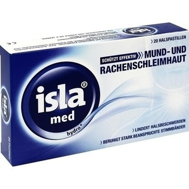 isla® med hydro<sup>+</sup>, Pastillen