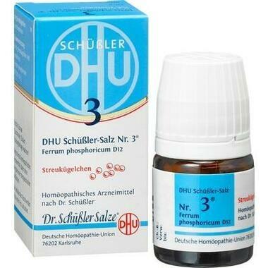 Biochemie DHU 3 Ferrum phosphoricum D12 Glob.