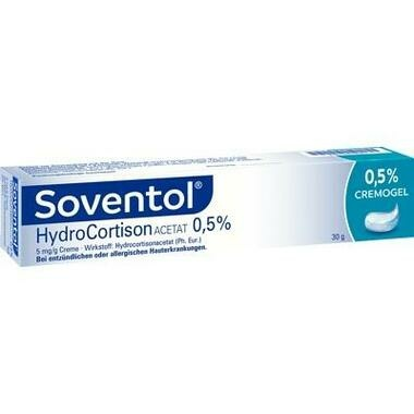Soventol® Hydrocortisonacetat 0,5% 5 mg/g Creme