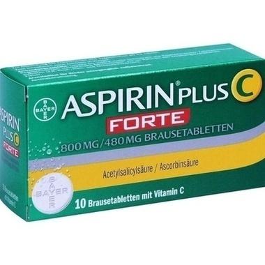 Aspirin® Plus C Forte 800 mg / 480 mg Brausetabletten