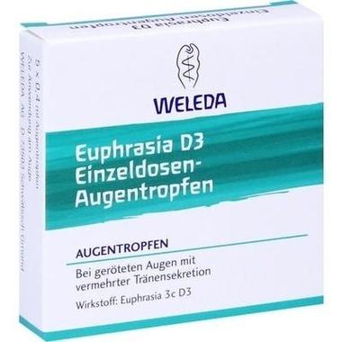 Euphrasia D3 Einzeldosen-Augentropfen