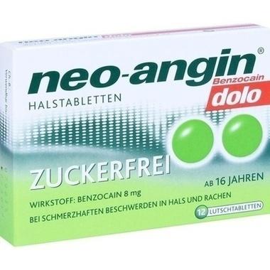 neo-angin® Benzocain dolo Lutschtabletten