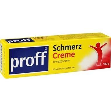 proff® Schmerzcreme, 50 mg/g Creme