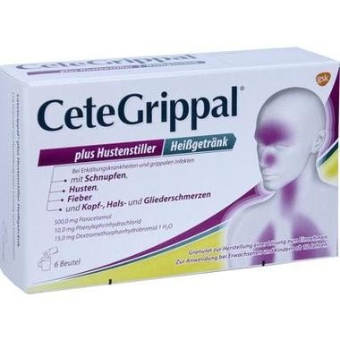CeteGrippal plus Hustenstiller Heißgetränk