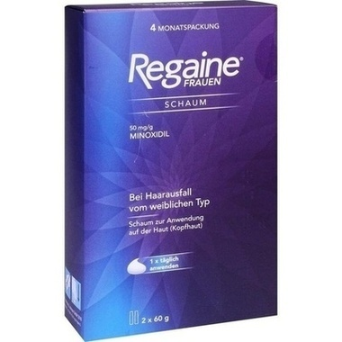 Regaine® Frauen Schaum, 50 mg/g