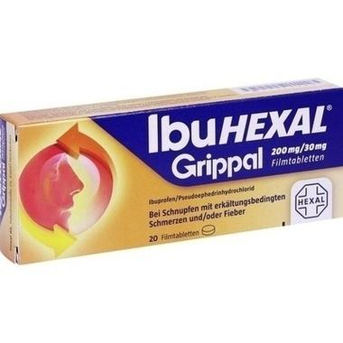 IbuHEXAL® Grippal 200 mg/30 mg Filmtabletten