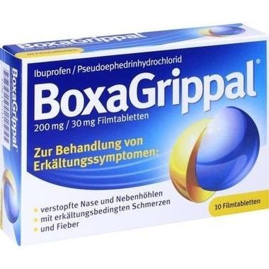 BoxaGrippal 200mg/30mg Filmtabletten