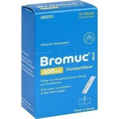 Bromuc® akut 600 mg Hustenlöser, Pulver zur Herstellung einer Lösung zum Einnehmen