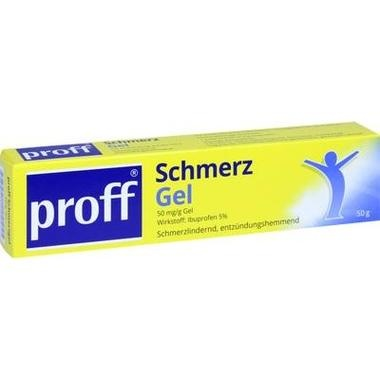 proff Schmerzgel, 50 mg/g Gel