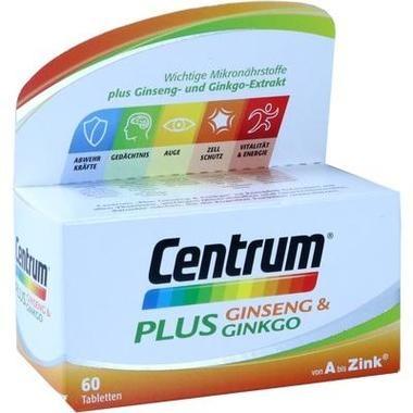 CENTRUM PLUS GINSENG+GINKG