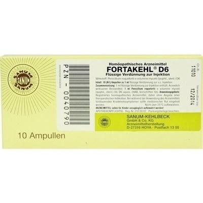 FORTAKEHL D 6 Ampullen