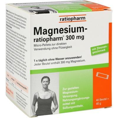 Magnesium-ratiopharm 300mg Micro-pellets M Gran.