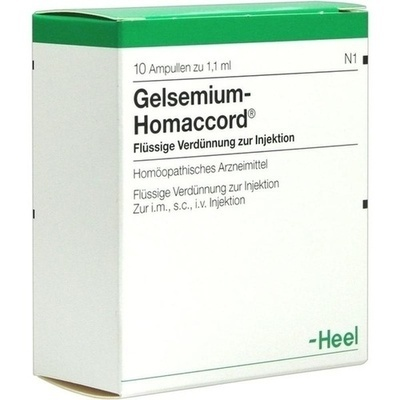 HEEL GELSEMIUM HOMACCORD Ampoules