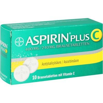 Efectos secundarios de la aspirina efervescente