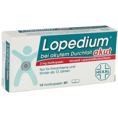 Lopedium Akut Bei Akutem Durchfall  Hkp