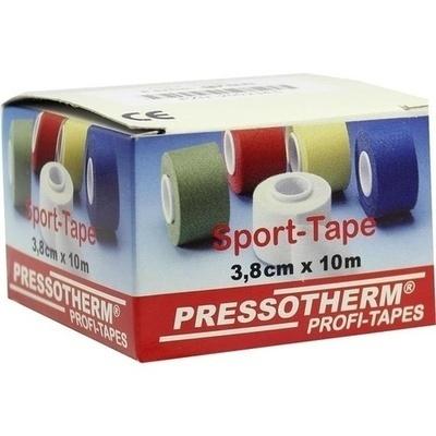 PRESSOTHERM Sport-Tape 3,8 cmx10 m grün