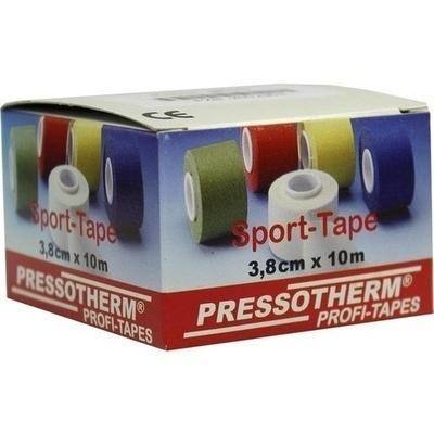 PRESSOTHERM Sport-Tape 3,8 cmx10 m gelb