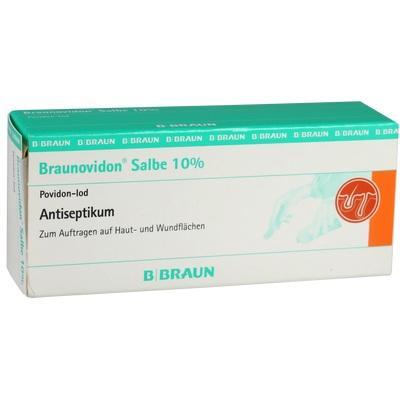 braunovidon 100 mg применение
