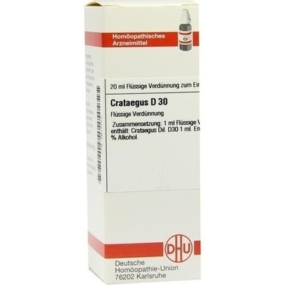 CRATAEGUS D 30 Dilution