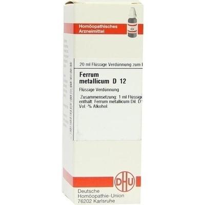 FERRUM METALLICUM D 12 Dilution