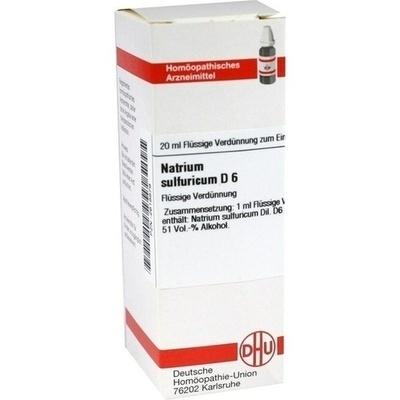 NATRIUM SULFURICUM D 6 Dilution