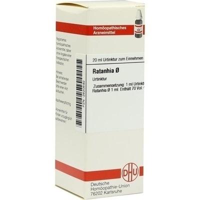 RATANHIA Urtinktur D 1