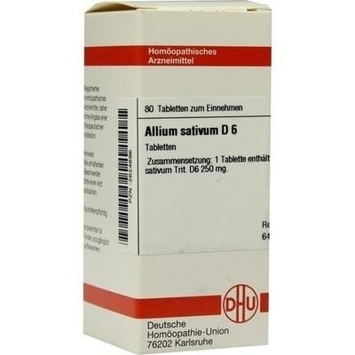 ALLIUM SATIVUM D 6 Tabletten