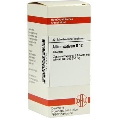 ALLIUM SATIVUM D 12 Tabletten