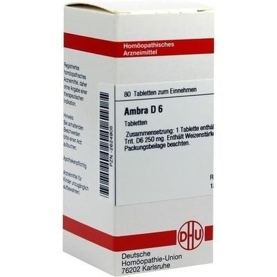 AMBRA D 6 Tabletten