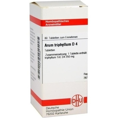 ARUM TRIPHYLLUM D 4 Tabletten