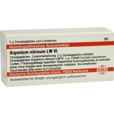 ARGENTUM NITRICUM LM VI Globuli