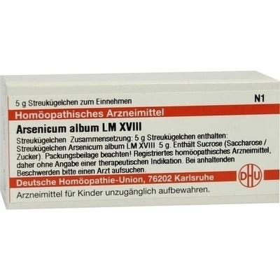 ARSENICUM ALBUM LM XVIII Globuli