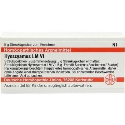 HYOSCYAMUS LM VI Globuli