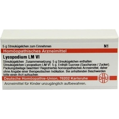 LYCOPODIUM LM VI Globuli
