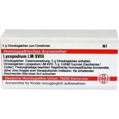 LYCOPODIUM LM XVIII Globuli