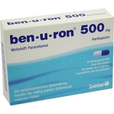 BEN-U-RON 500 mg Kapseln