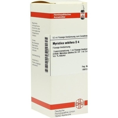 MYRISTICA SEBIFERA D 4 Dilution