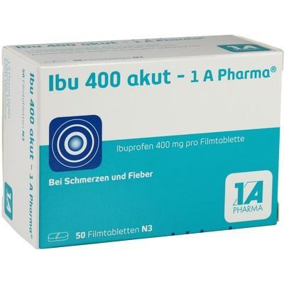 Ibu 400 Akut - 1a Pharma  Filmtabletten