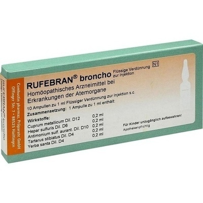 RUFEBRAN broncho Ampullen